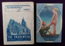 Advertising playing cards. Prudential Insurance circa 1940's